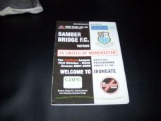 Bamber Bridge v FC United Of Manchester, 2007/08